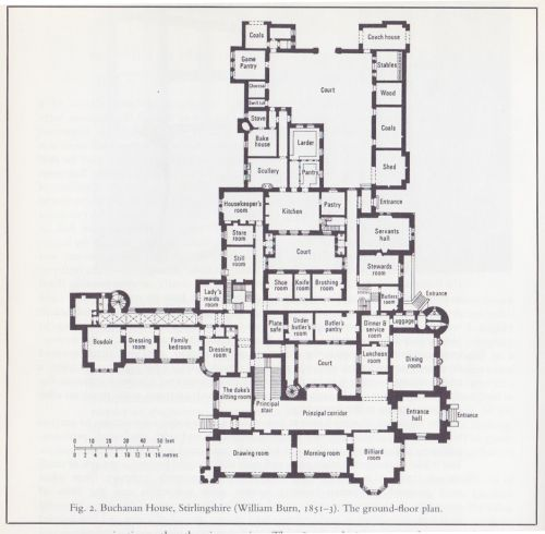 Buchanan House Castle Floor Plan House Plans Mansion How To Plan