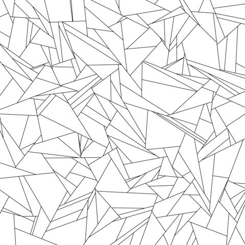 Teselado Gilbert Dibujo para colorear | DIBUJOS | Pinterest ...