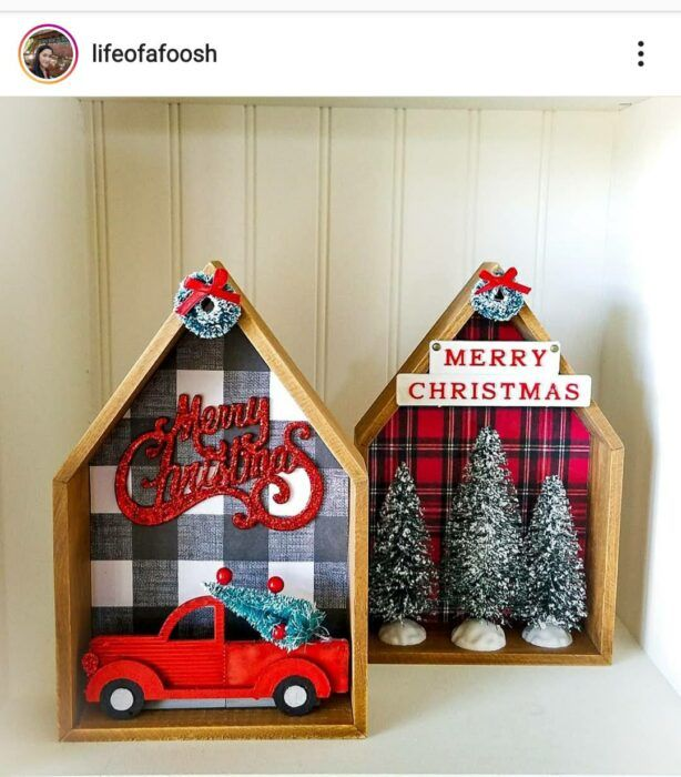 15 Ways to Use Dollar Tree Wooden Houses