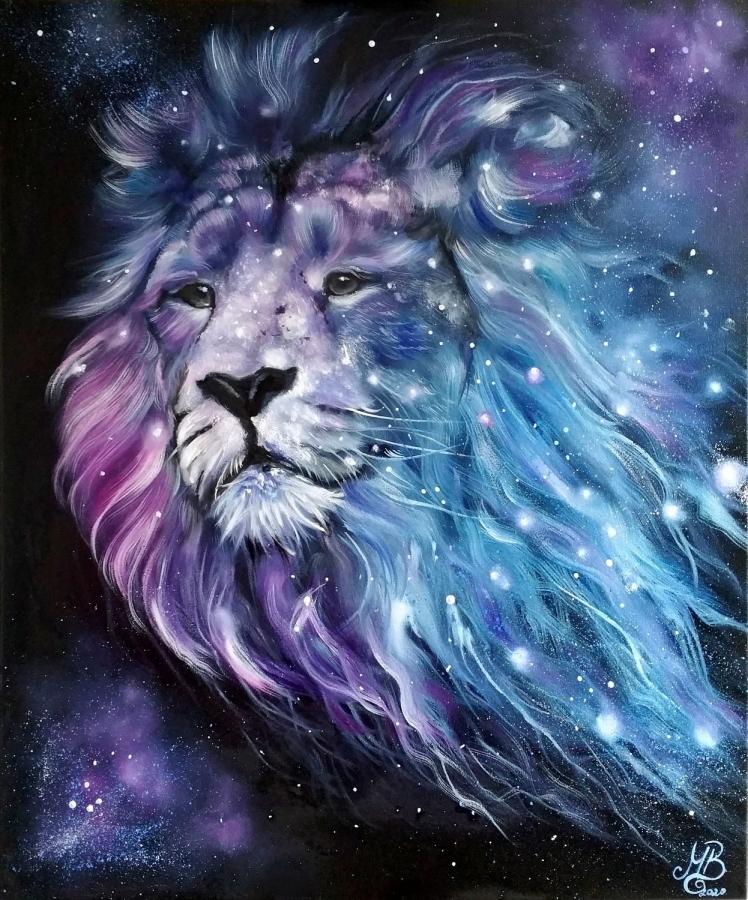 Art Vive Colorful Lion Lion Art Lion Background