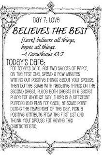Taush O The Love Dare Day 7 Love Dare Love Challenge Love
