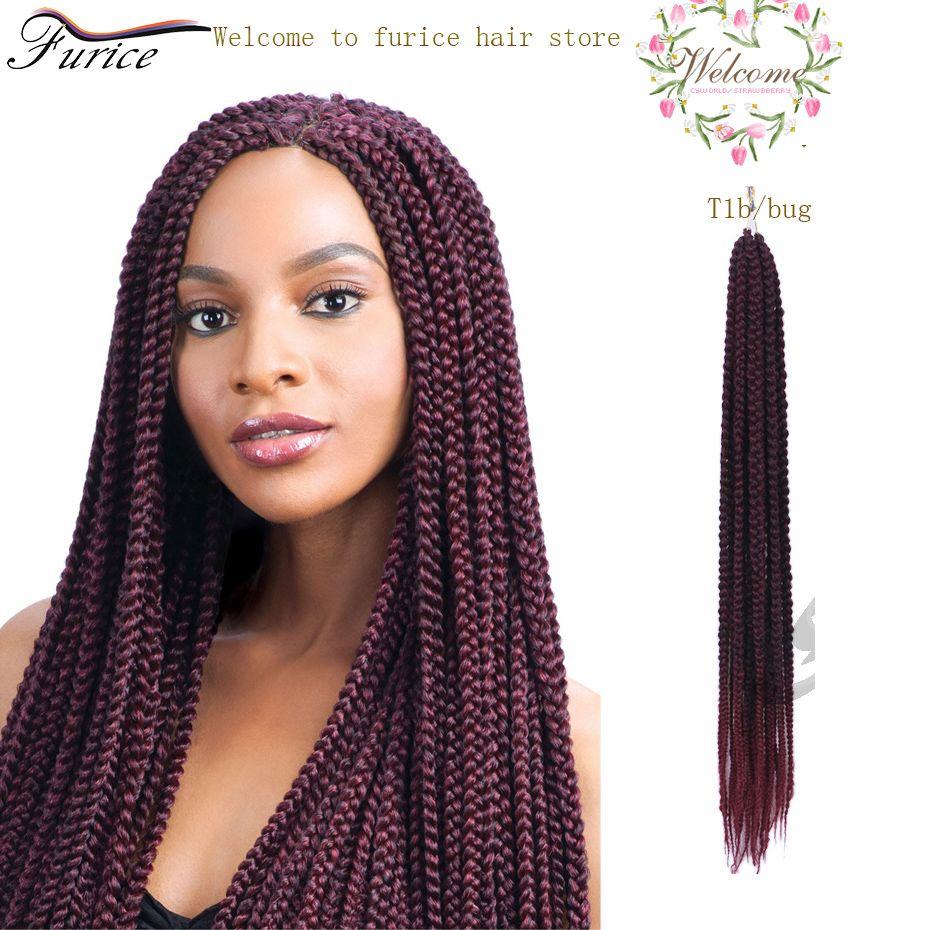 24 inch crochet 3x box braids hair extension crochet braids curly big box braids blonde crochet. Black Bedroom Furniture Sets. Home Design Ideas