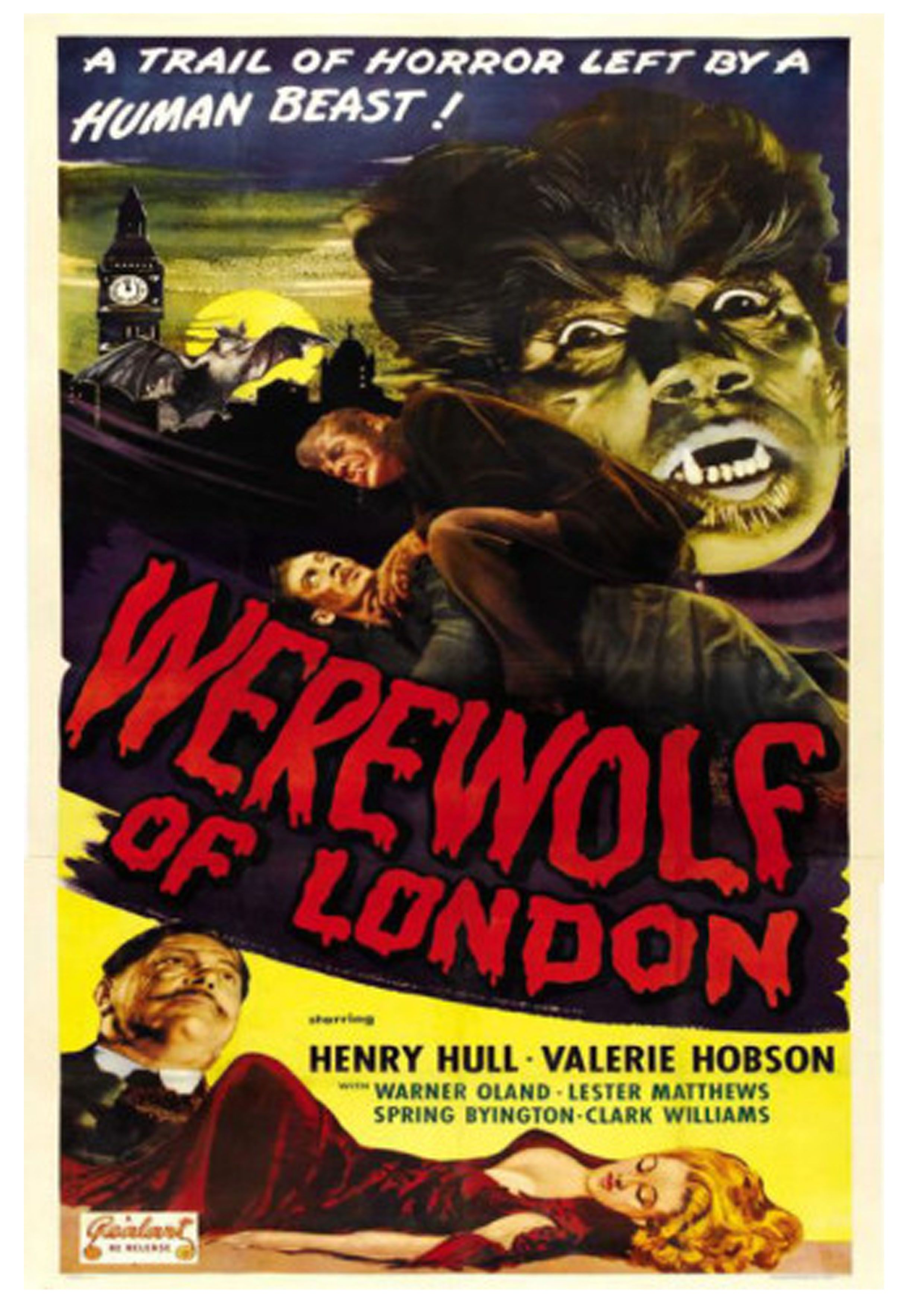 1935 horror poster classic posters pinterest horror