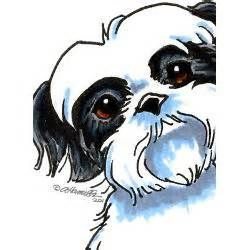 Cartoon Shih Tzus Bing Images Puppy Sketch Bear Art Animal Art