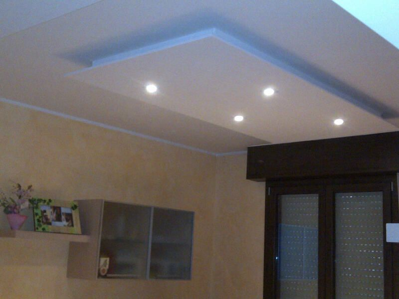 Plafoniere Da Soffitto In Gesso : Controsoffitto con faretti led cerca google techo ceiling