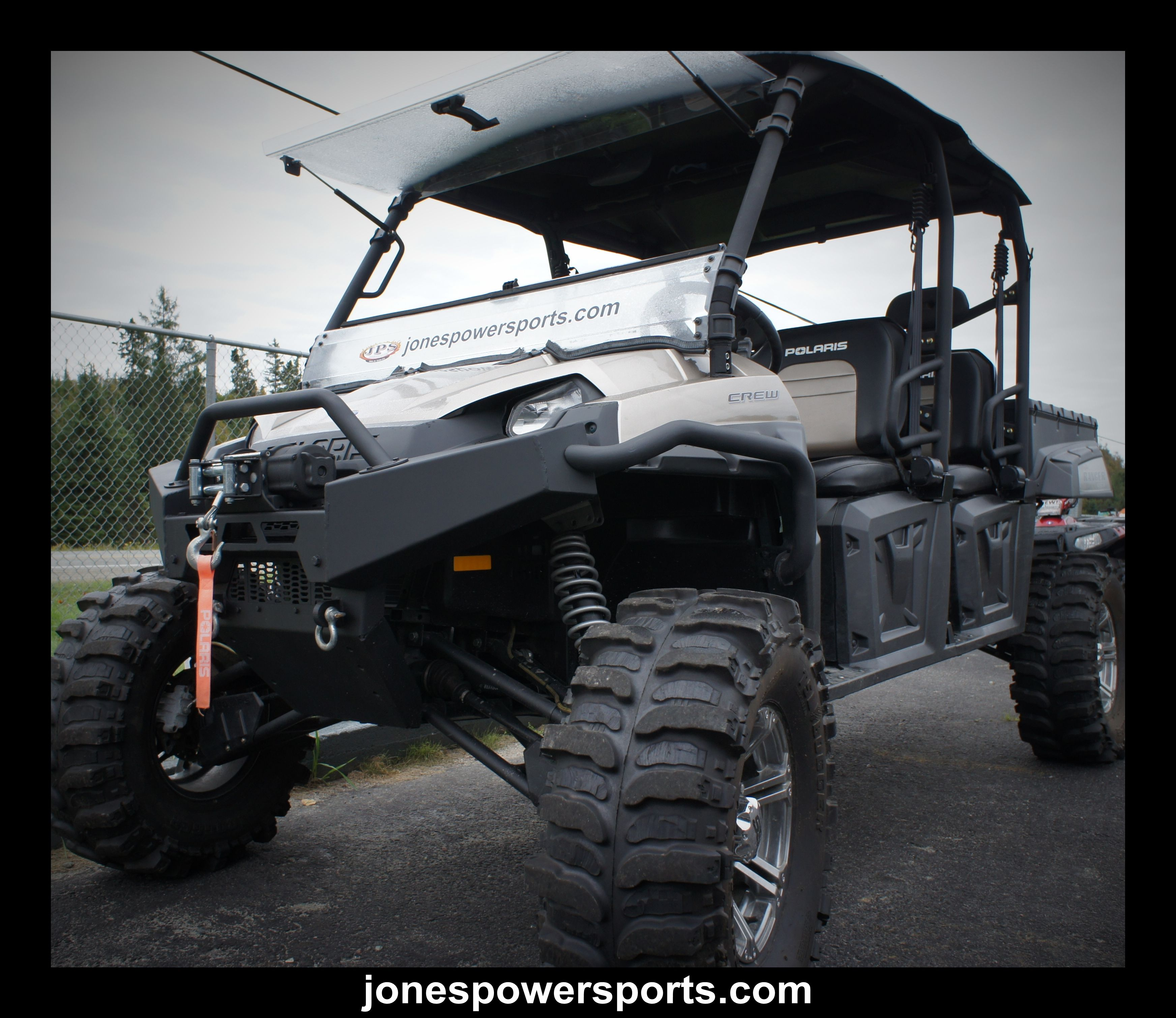 hight resolution of polaris ranger crew 800 le 6 lift custom cut 33x12 5x15 tsl boggers