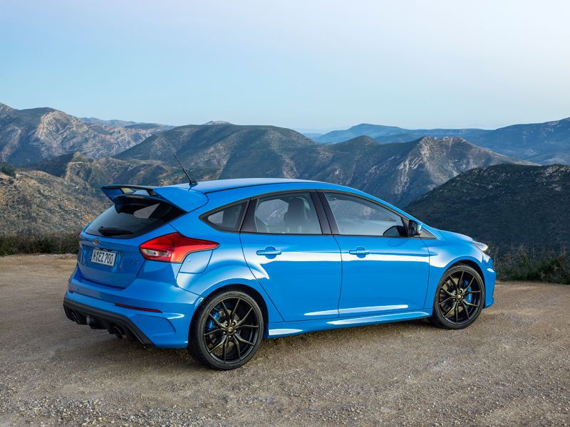 The 2016 Ford Focus Rs Is God In Hatchback Form Ford Focus Rs Focus Rs Ford Focus