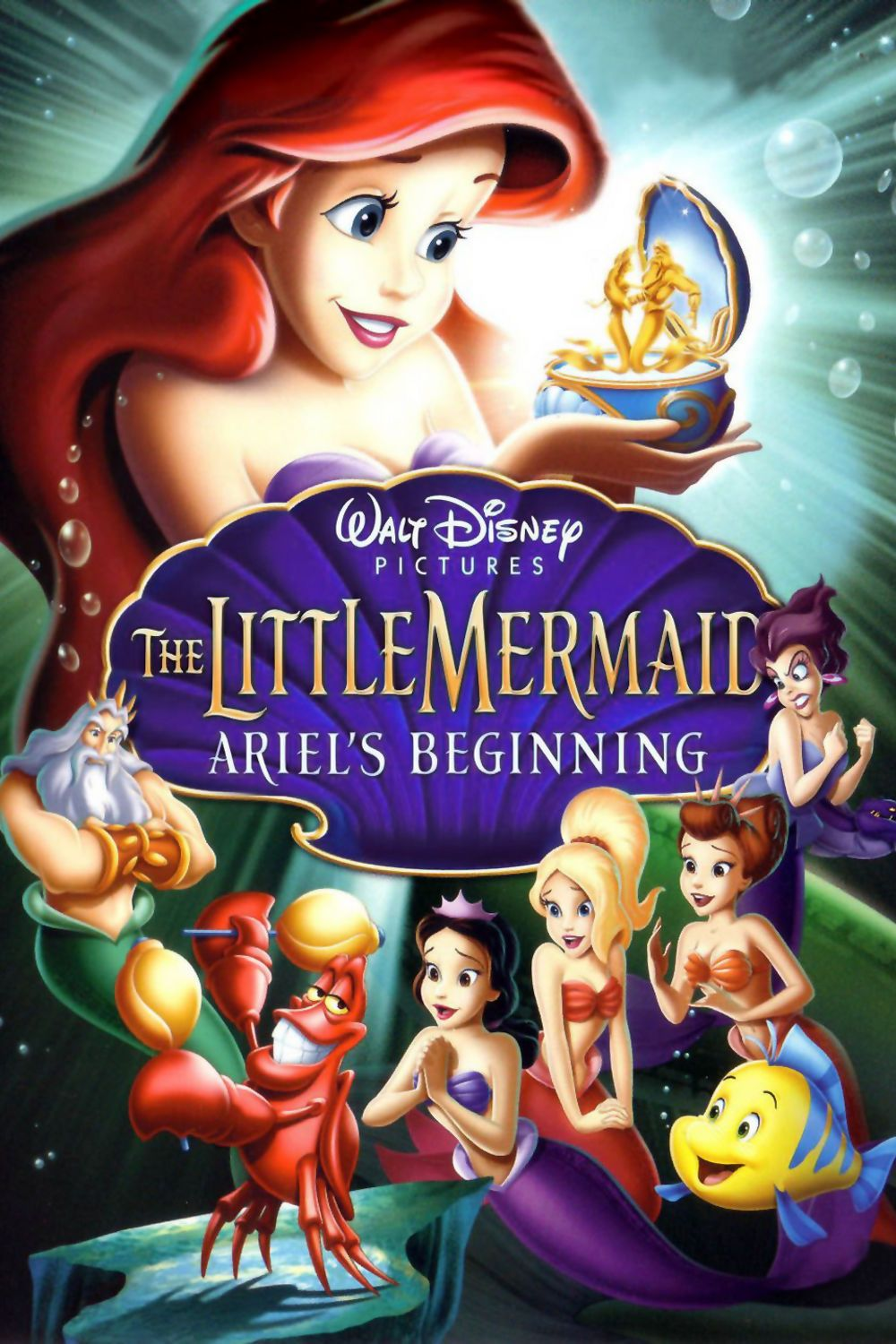 The Little Mermaid Ariel S Beginning Com Imagens Disney Walt
