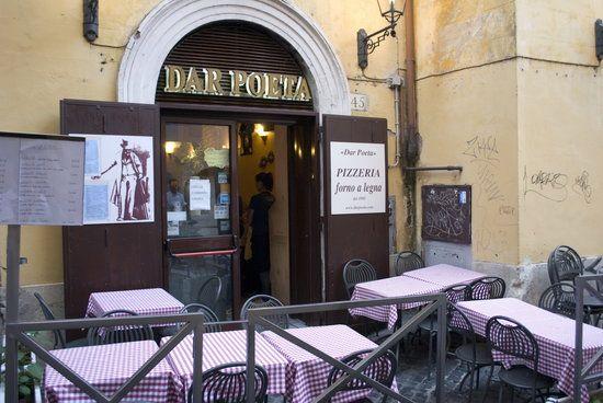 RESTAURANT - Dar Poeta, Vicolo del Bologna, 45, Roma