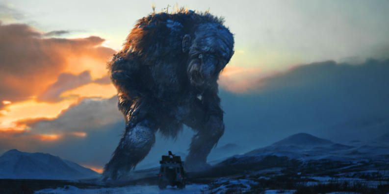 from the movie Trollhunter.