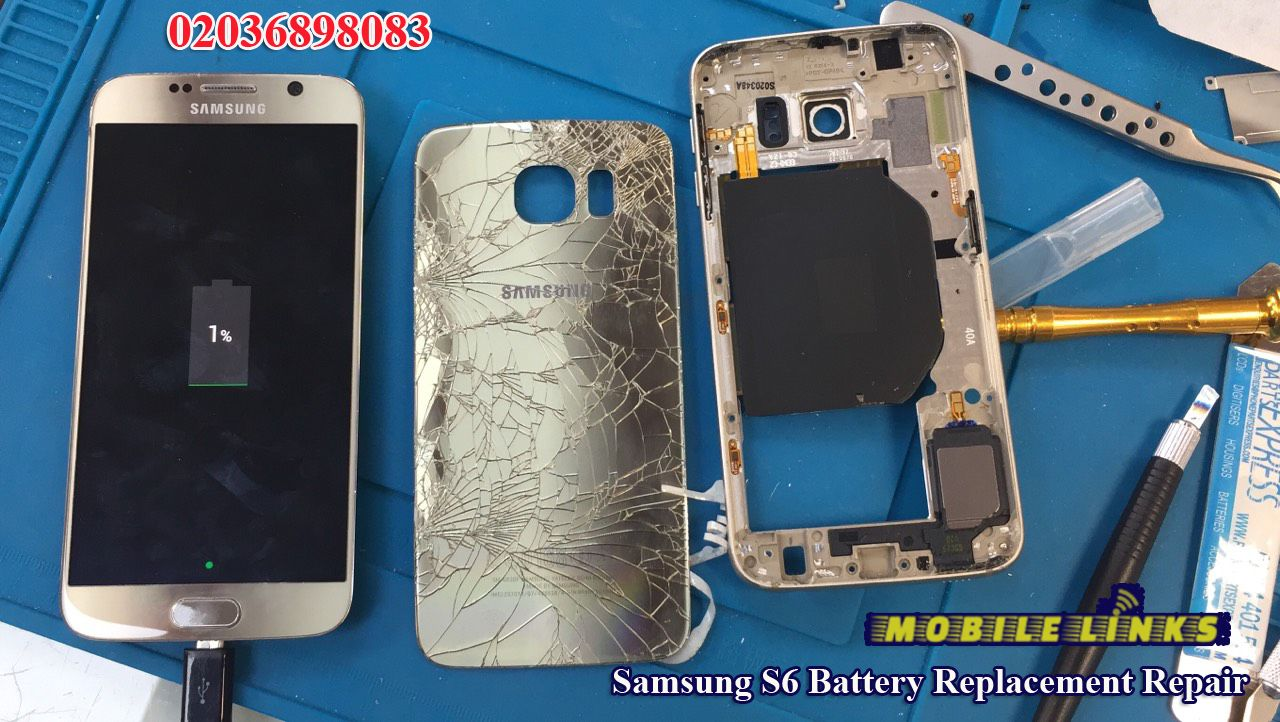 Samsung Galaxy S6 Battery Replacement Repair Samsung