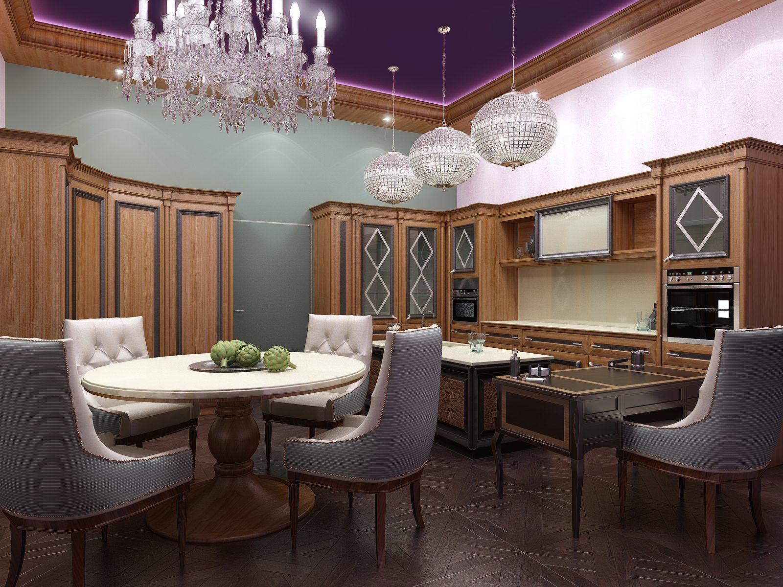 ArtStation Kitchen Showroom, Artem Glazov (With images