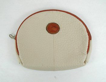 Authentic Dooney And Bourke All Weather Leather Makeup Bag