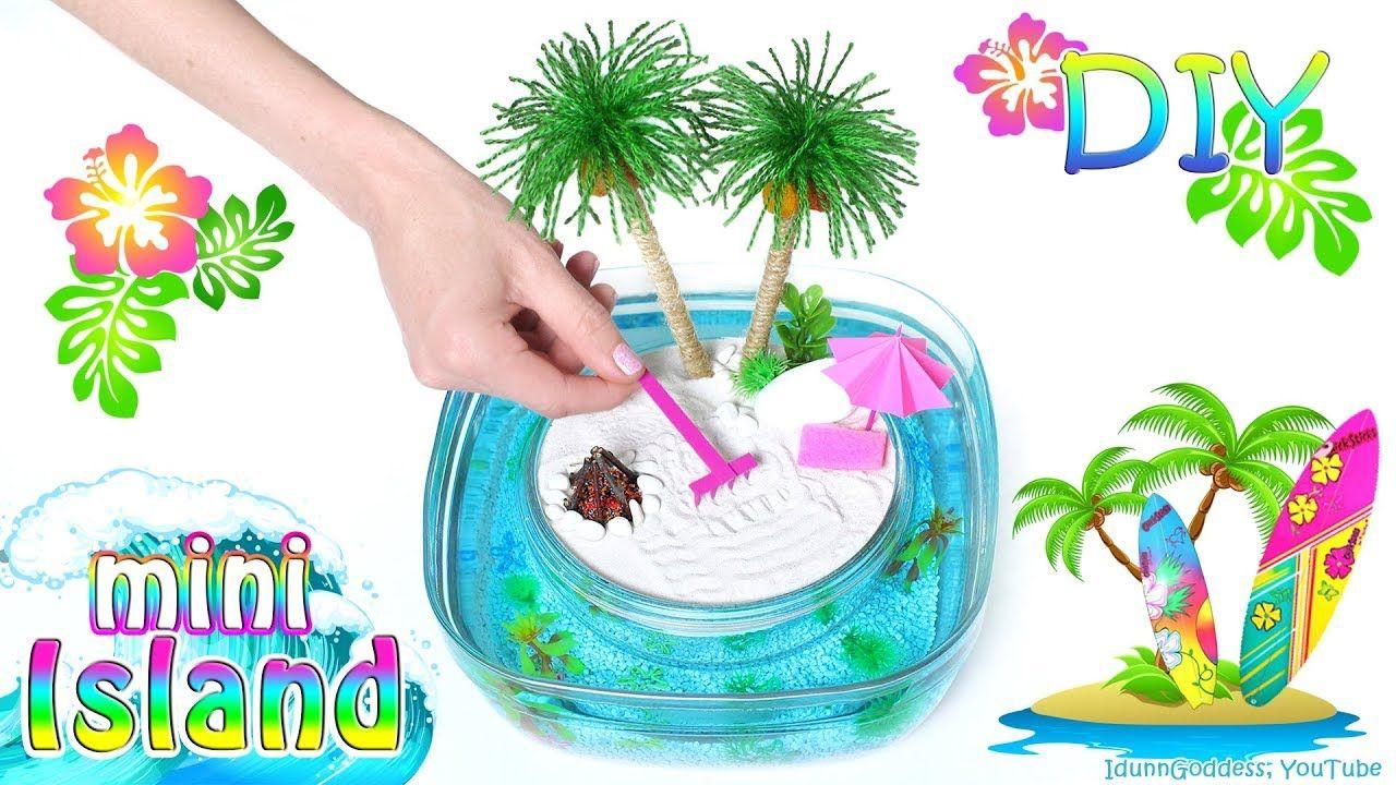 How To Make A Miniature Island In Ocean Zen Garden Diy Stress Relievin Zen Garden Diy Mini Zen Garden Zen Garden