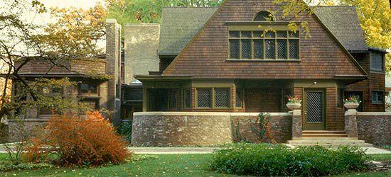 Frank Lloyd Wright Home and Studio. Oak Park