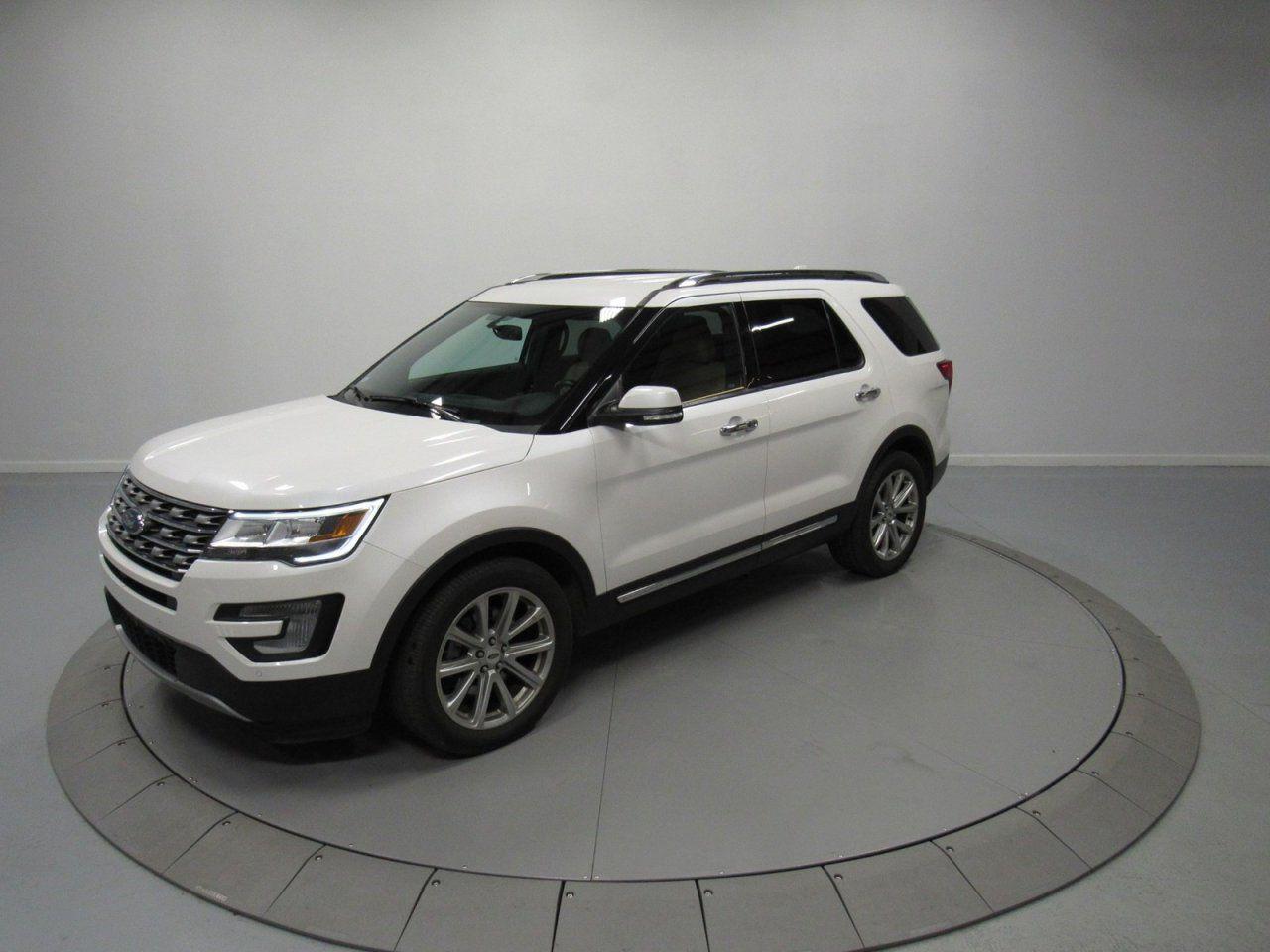 New 2017 ford Explorer Limited White Platinum My Dream