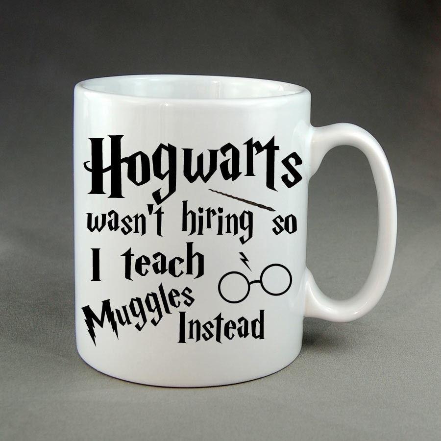 Harry potter mug cup hogwarts teacher christmas birthday