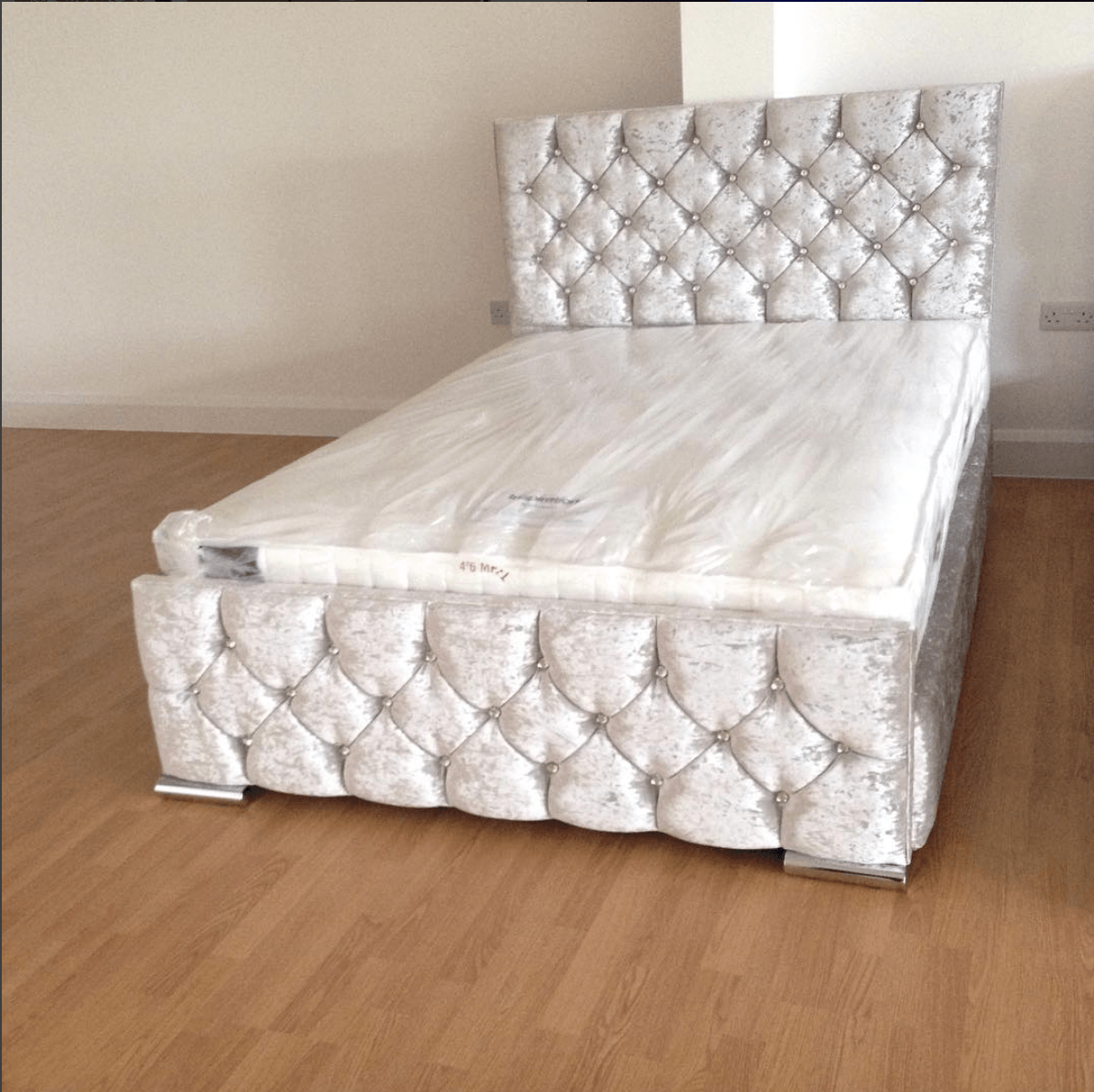 a monaco crushed velvet bed – house of sparkles #bed #home #decor
