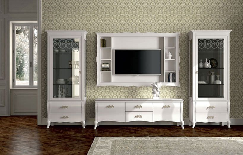 Master Classic Tv Wall Units Designs And Living Room