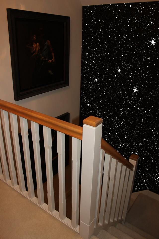 Best Black Glitter Wall Stairway Glitter Wall Glitter Paint 400 x 300
