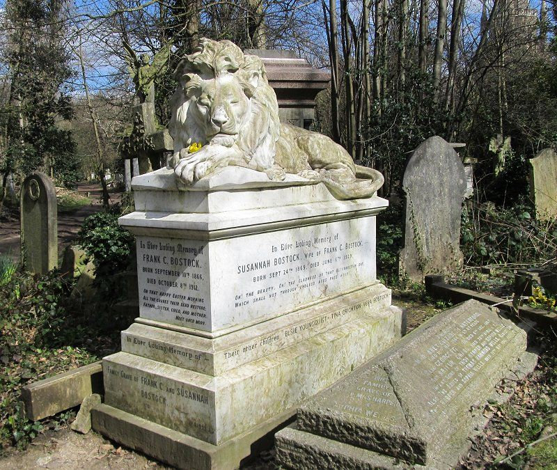 Bostock Monument | Abney Park Cemetery | London, England | via Blog: Musings of a Curious Individual