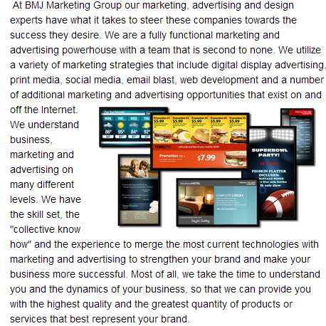 Http Bmjmarketinggroup Com About Html Marketing And