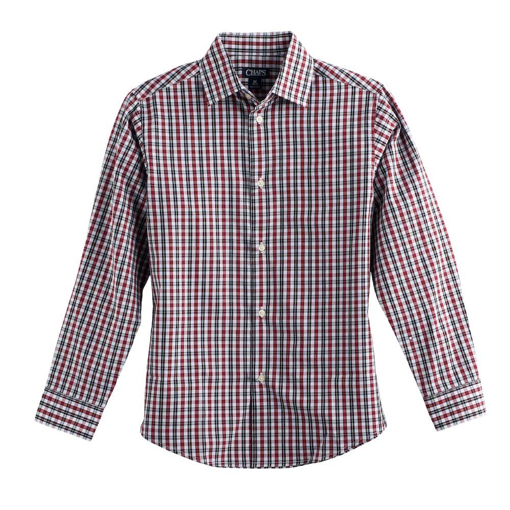 Spring/&Gege Boys Short Sleeve Check Plaid Shirts