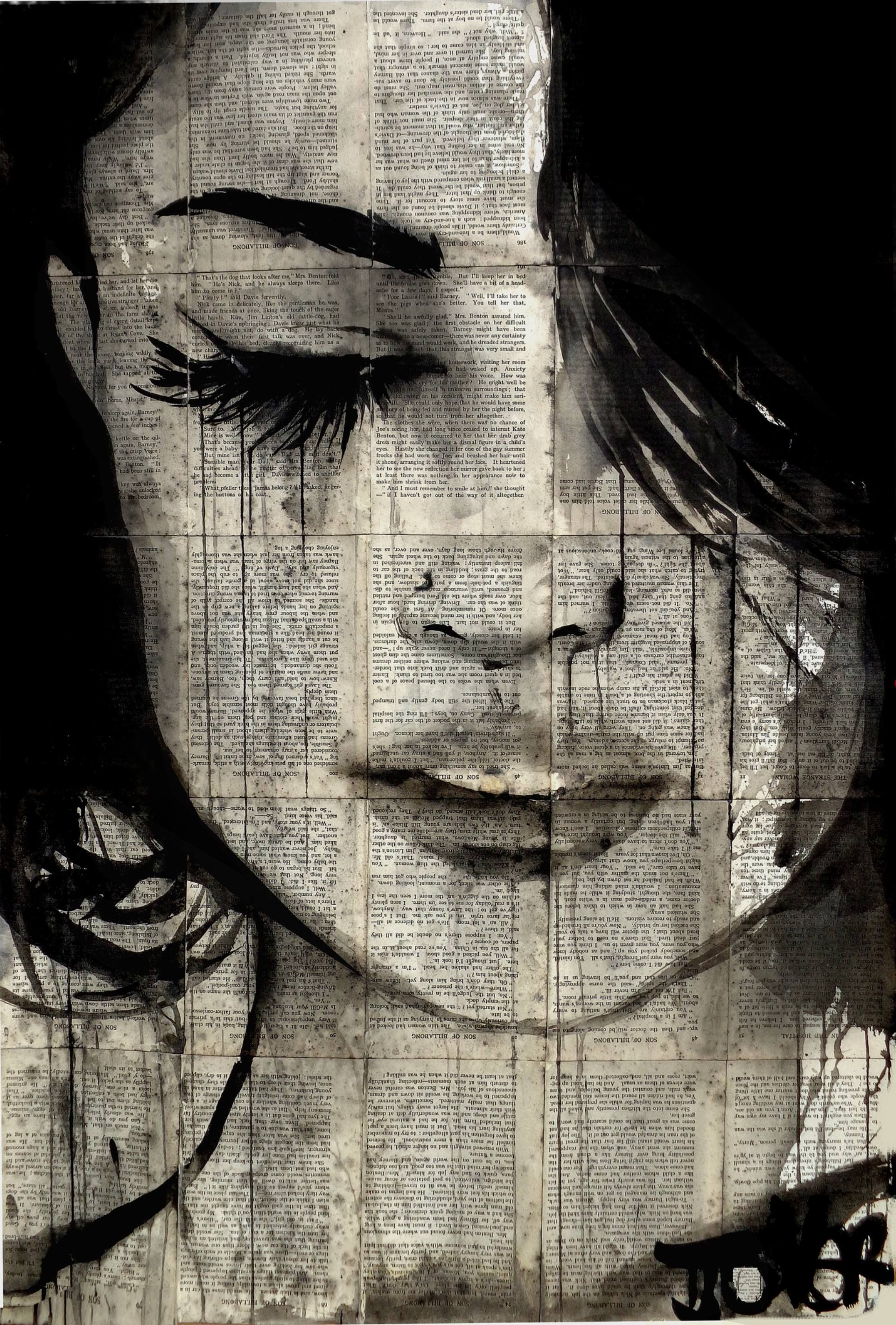sometimes forever Drawing by LOUI JOVER | Pinterest | Malerei ...