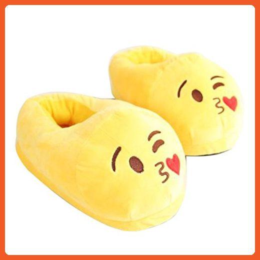 c9dc54dc7478 GDAE10 Unisex Cute Cartoon Warm Plush Soft Sole Indoor Slipper