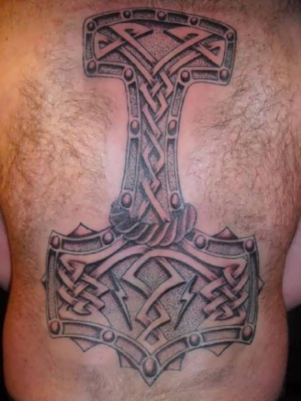 Tattoo Thor S Hammer Heathen Tattoos Viking Tattoos Tattooed Tattoos