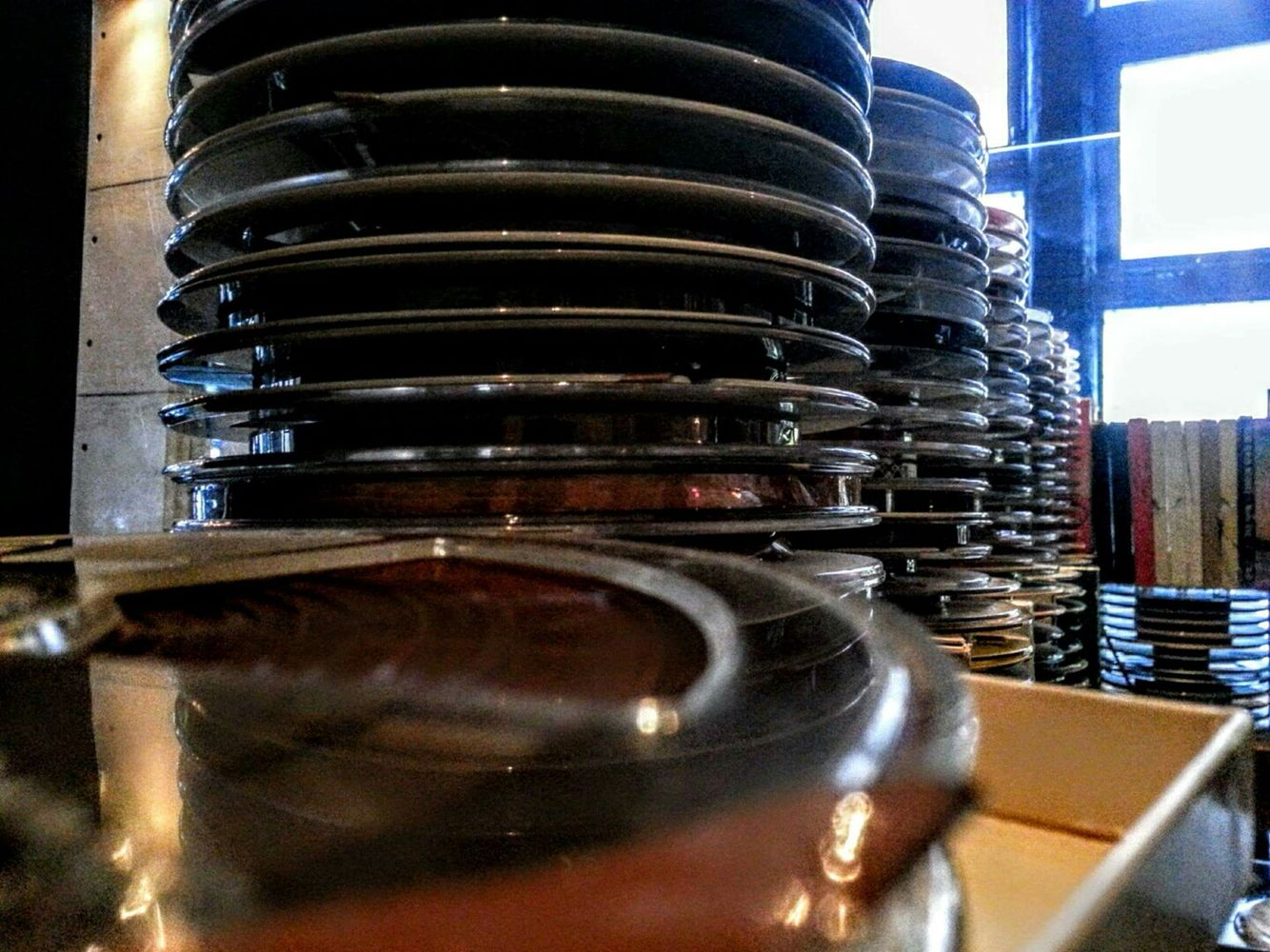 Stack of Reel to Reel Tapes