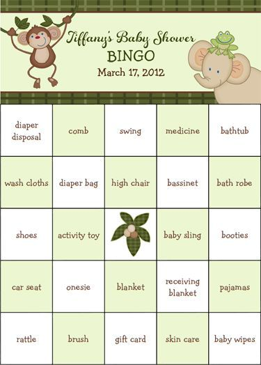 Now As A Free Pdf File Jungle Babies Baby Shower Bingo 100 Pre Filled Game Cards C Baby Shower Bingo Free Baby Shower Printables Jungle Baby Shower Theme