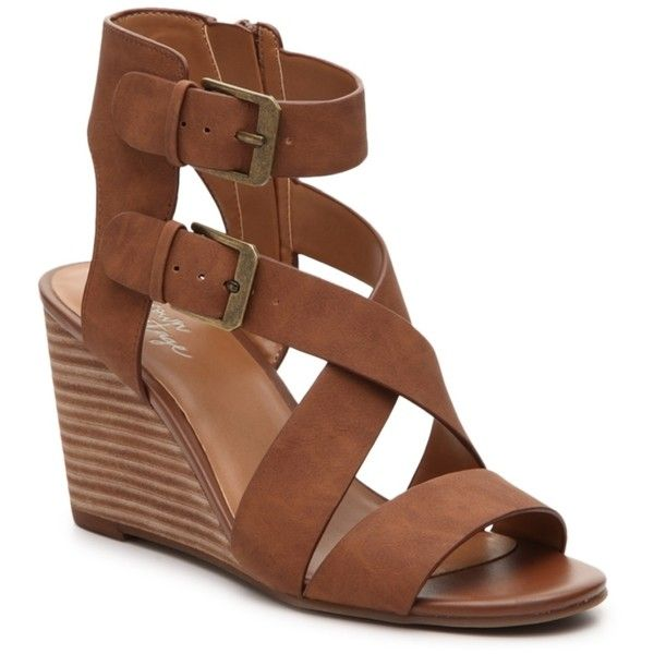 83f00f4bfc7e Crown Vintage Lillee Wedge Sandal Women s Shoes