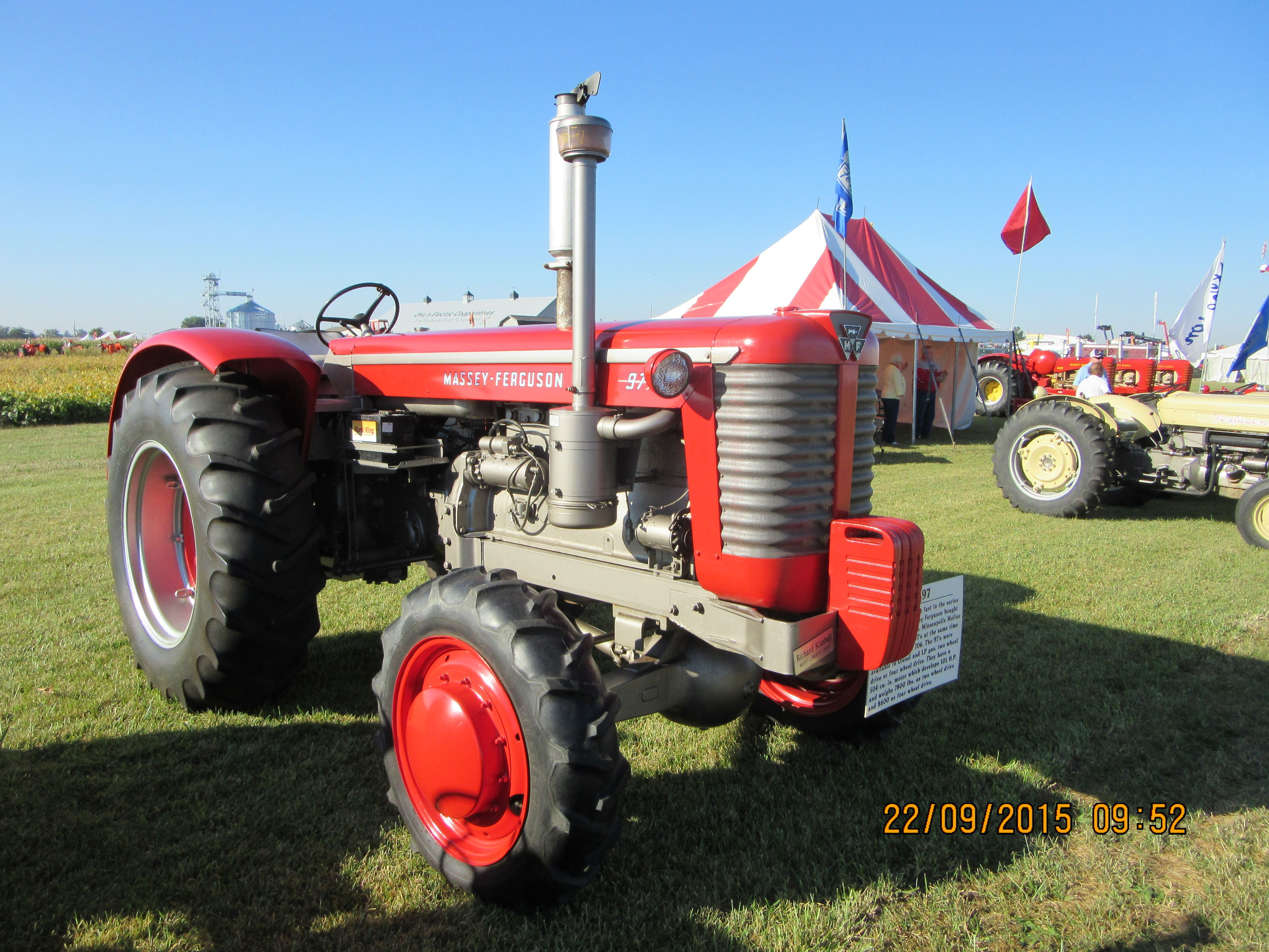 This Massey Ferguson 97 Is A Really A Minneapolis Moline G706