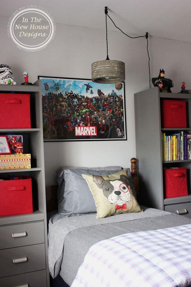 Bedroom Redo Big boy bedrooms, Grey boys rooms, Boys