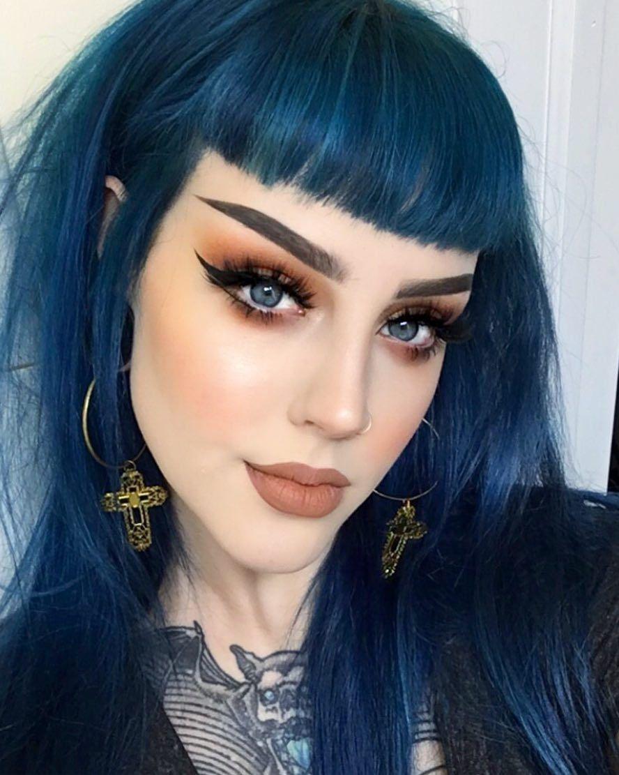 Blue Jean Baby Fox Hair Dye Navy Blue Hair Blue Hair