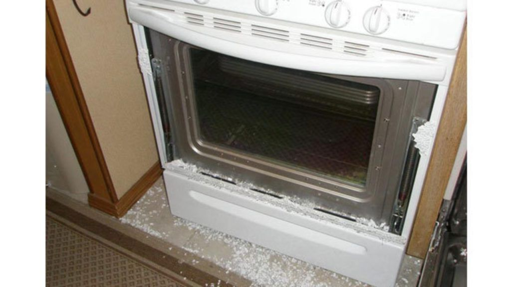 Electrolux Oven Glass Door Shattered