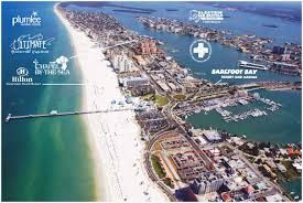 Map Of Clearwater Beach Florida.Clearwater Beach Map Clearwater Beach Florida Pinterest