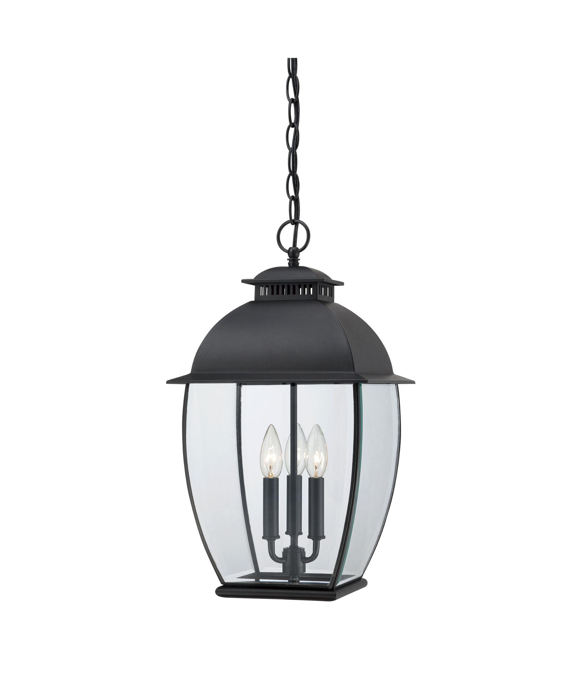 "Quoizel BAN1911 Bain 3 Light Outdoor Hanging Lantern | Capitol Lighting 1-800lighting.com 20.5""  dry locations"