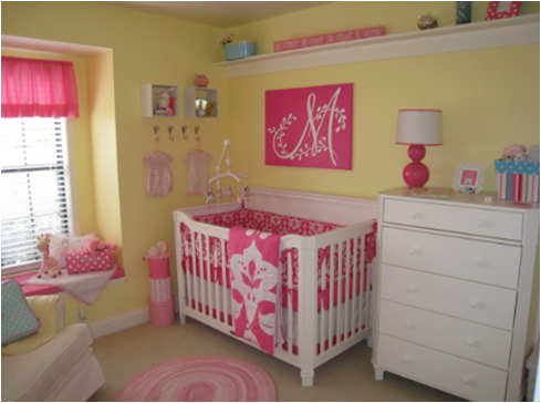 Favorite Paint Colors Girls Bedroom Pale Daffodil By Behr Wall