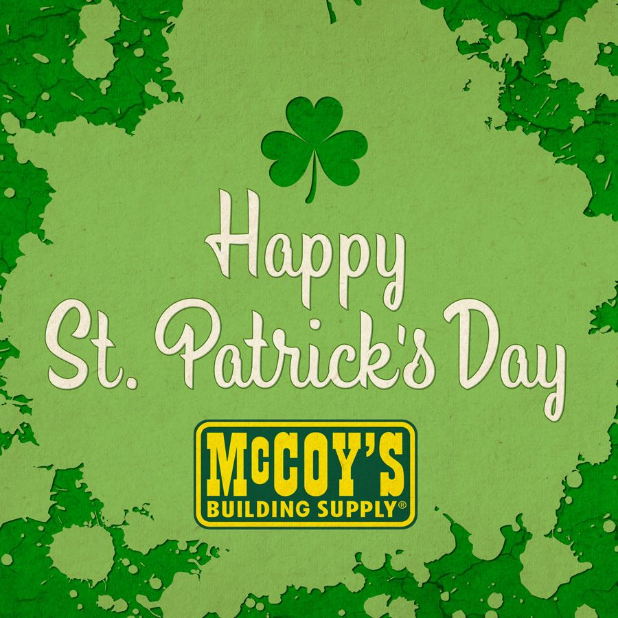 Shop McCoy's Building Supply. We've got over 80 locations in 5 states. www.mccoys.com