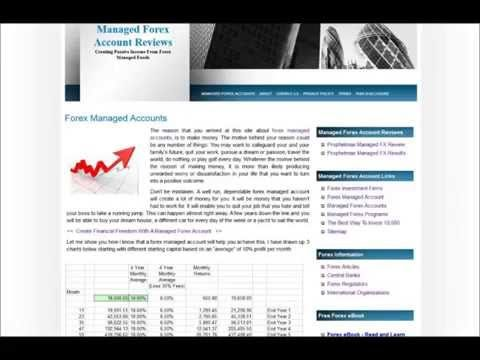 Forex Managed Account Reviews