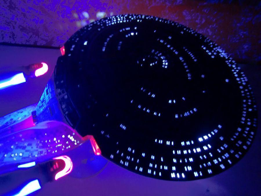 Star Trek USS Enterprise NCC 1701-D LED lighting kit for AMT