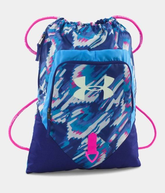 Under Armour Undeniable Sackpack - UA Sackpack -Hi Vis Yellow, Pink, Black,  Red 00fbe00b37