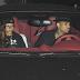 Chris Brown choca su automóvil al intentar huir de los paparazzi (FOTO):