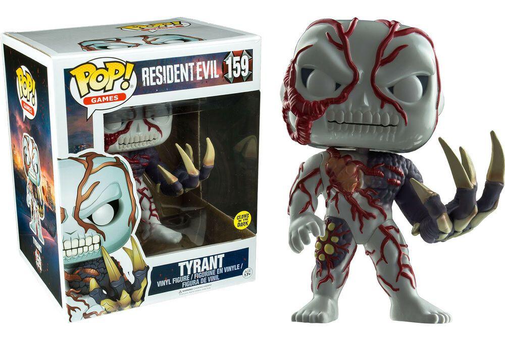 FunKo Free Shipping! Vinyl Tyrant Glow Pop Resident Evil