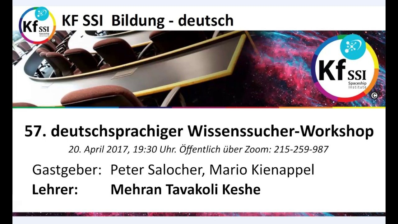 2017 04 20 PM Public Teachings in German - Öffentliche Schulungen in Deu...