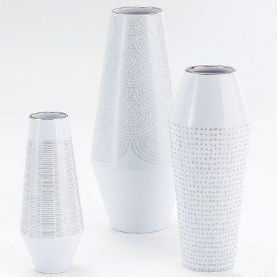 Global Views Ballinger Vase Gold Silver - D8.80212