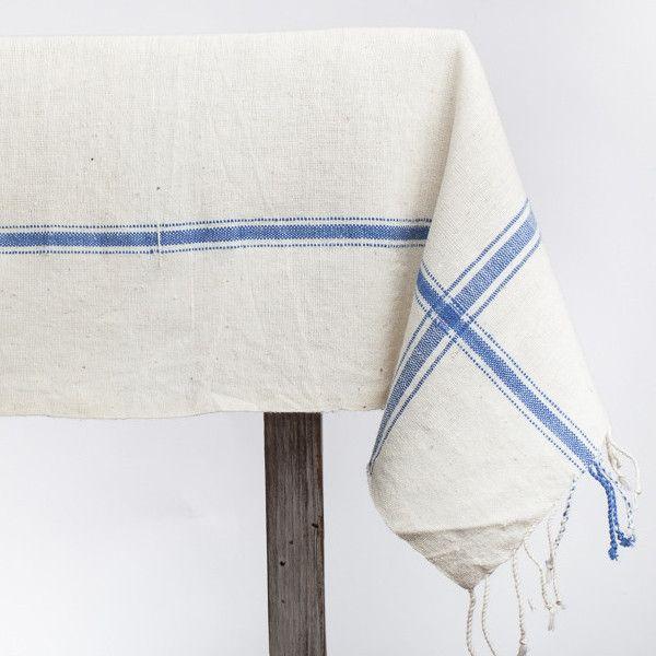 Fair Trade Hatch Tablecloth