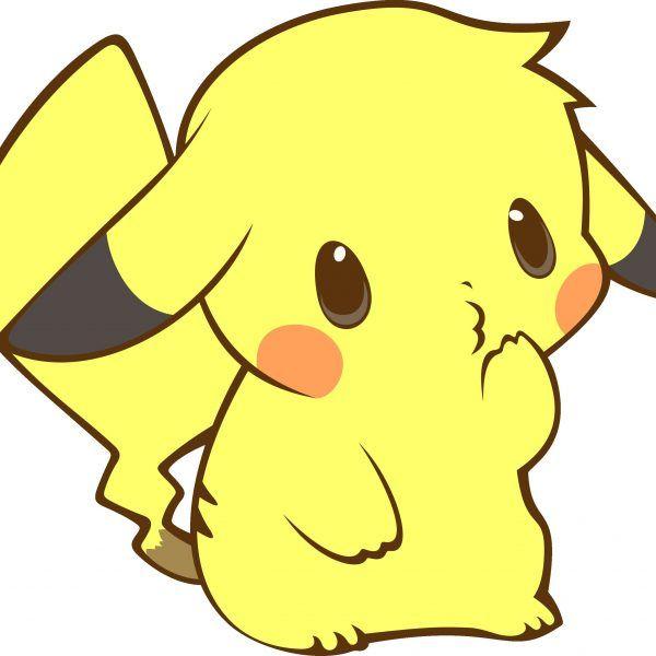 Pikachu Kawaii Dibujos Para Dibujar Colorear Imprimir Y